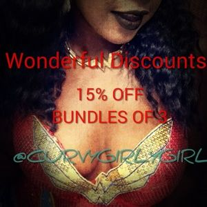 Other - 15% discount off bundles of 3 items